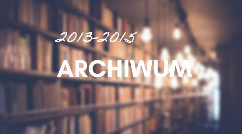 Archiwum 2013-2015