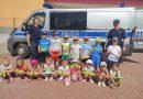 Dzieci z oddziałów przedszkolnych odwiedzili funkcjonariusze KM Policji w Boguszowie-Gorcach👮👮♀️